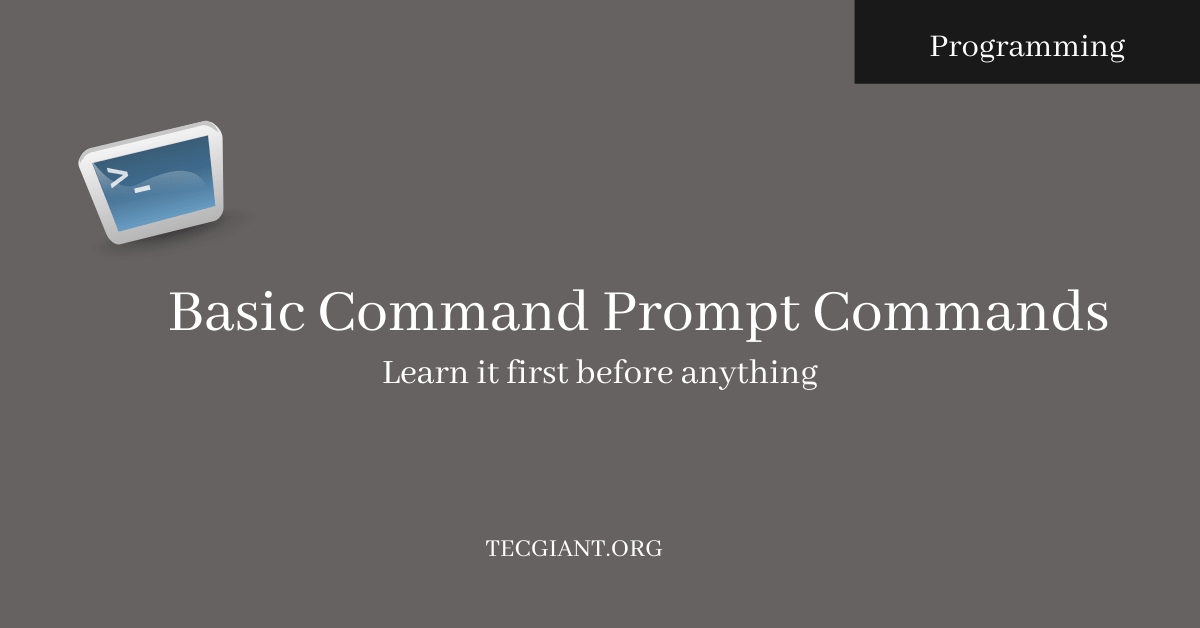 Basic Command Prompt Commands feature image