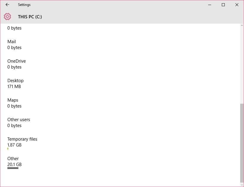 Delete temporary files in windows 10 by mdoern way